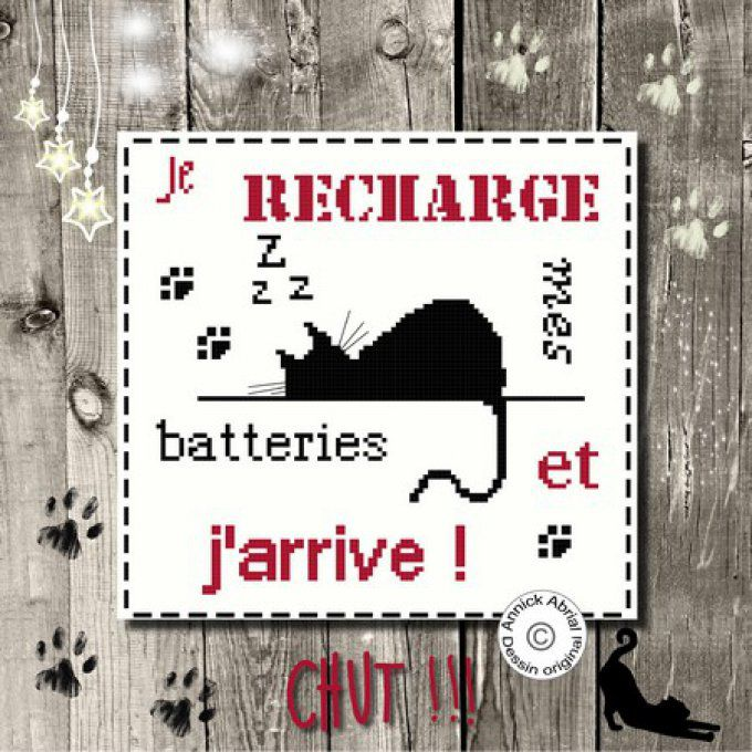 Je recharge mes batteries point de croix Annick Abrial